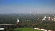 Elevated  view of auditorium, National Auditorium, Mexico City, Mexico video
