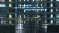 Elevator bank video