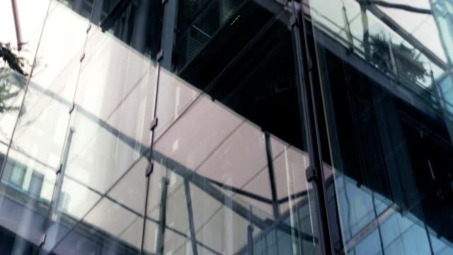 Elevator in skyscraper video