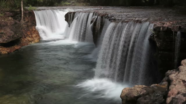 Elliot falls, Cape york Australia HD Waterfall video