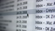 Email Inbox video