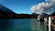 embark from Spiez of lake Thun video