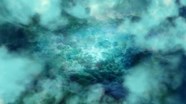 Emerald Clouds Background video