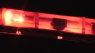 Emergency Lights close up video