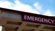 Emergency Room Sign video