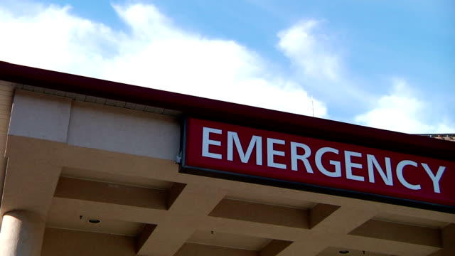 Emergency Room Sign video