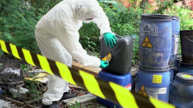 Emergency Team checking Biohazard Leak video