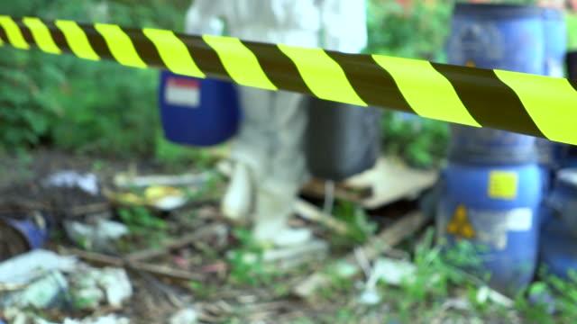 Emergency Team Removes Biohazard Leak video