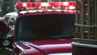 (HD1080i) Emergency Vehicle Red Flashing Lights video