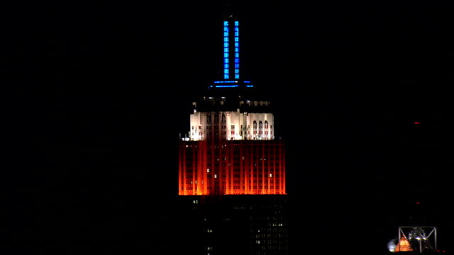 empire state building - Aerial View - New York,  New York County,  United States video