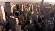 Empire state building in New York video