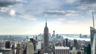 Empire State Building New York Day Night Timelapse Manhattan NYC video