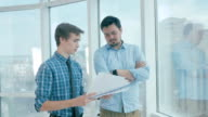 Employee tired of mad director throws paper in to boss ready and happy for quit, dismissal video