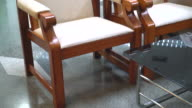 empty chair interior decoration video
