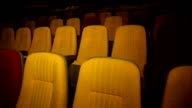Empty cinema hall. video
