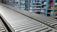 Empty Conveyor Belt video