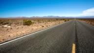 Empty Desert Road video