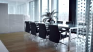 DS Empty elegant conference room video