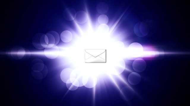 Empty eMail Concept - HD1080 video