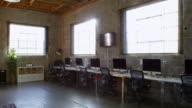 Empty Interior Of Modern Design Office Shot On R3D video