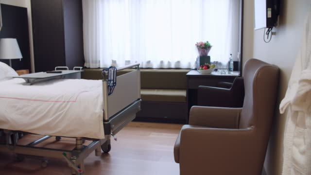 Empty Patient Room In Modern Hospital video