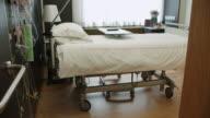 Empty Patient Room In Modern Hospital video