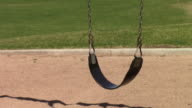 Empty Playground Swing video