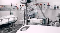 Empty post operative room video