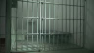4K DOLLY: Empty Prison / Jail Cell - Behind Bars video
