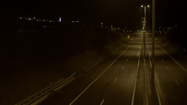 Empty Road At Night video