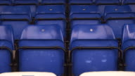 Empty stadium seats - HD & PAL video