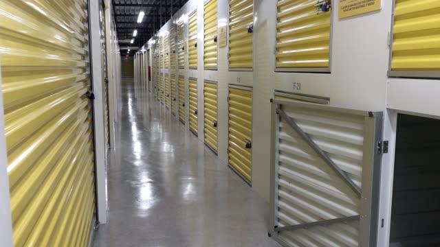Empty Storage Building video