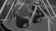 Empty Swing B&W HD video