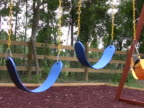 Empty Swings on a Playground 2 NTSC video