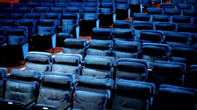Empty theater seats. video