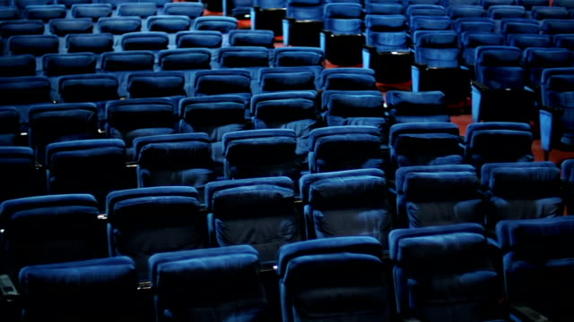 Empty theater seats. video