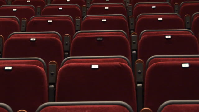 Empty Theatre seats 2 - HD & PAL video
