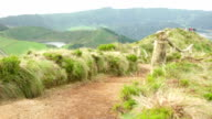 Empty Viewpoint Pathway of Sete Cidades video