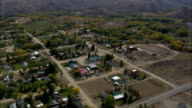 Encampment  - Aerial View - Wyoming, Carbon County, United States video
