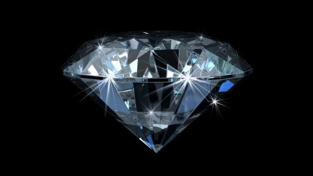 Enchanting Diamond With Magic Sparks (HD1080) video