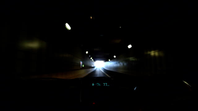 End of tunnel video