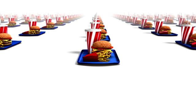 Endless Fast Foods side view loop video