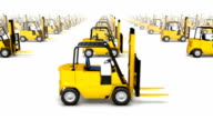 Endless Forklifts front view loop video