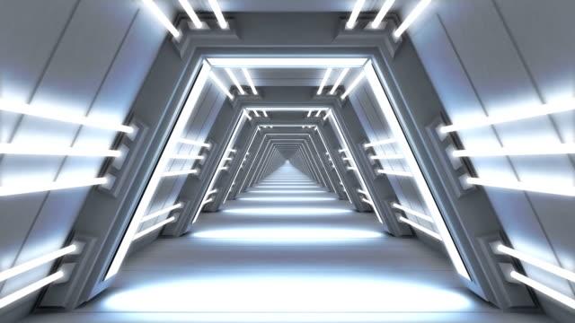 endless futuristic passage video