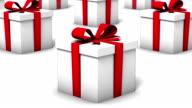 Endless Gift Boxes vertigo effect video