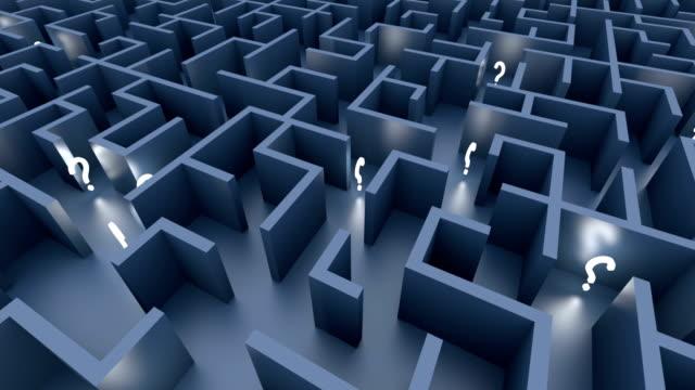 Endless maze video