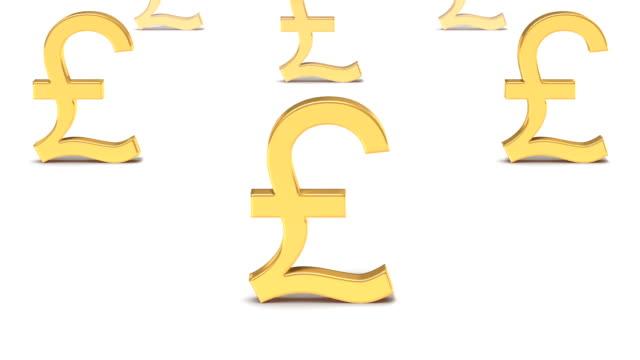 Endless Pound Symbols vertigo effect video