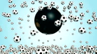 Energetic Soccer Animation - Full HD video