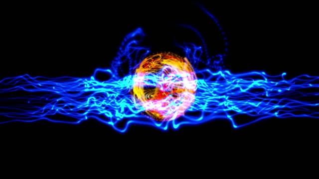 energy ball plasma 4k video