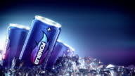 energy drink pass through Ice Cubes video